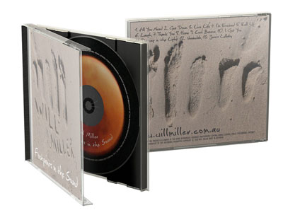 Will Miller Footprints in the Sound CD